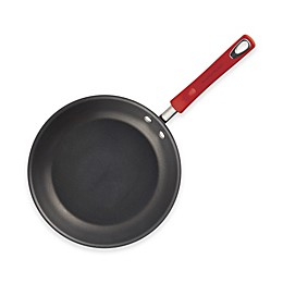 Rachael Ray™ Hard Anodized Nonstick 12.5-Inch Skillet in Grey/Red