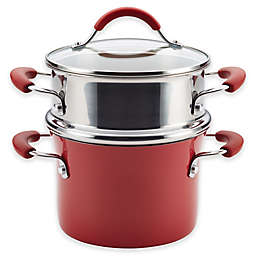 Rachael Ray™ Cucina Hard Porcelain Enamel Nonstick 3 qt. Multipot Steamer Set