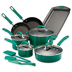 Rachael Ray™ Classic Brights Nonstick Hard Enamel 14-Piece Cookware Set