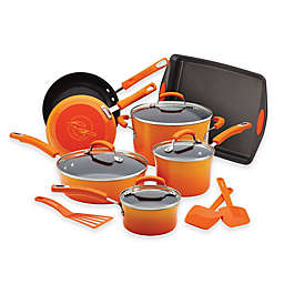 Rachael Ray™ Classic Brights Nonstick Hard Enamel 14-Piece Cookware Set