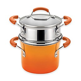 Rachael Ray™ Classic Brights 3 qt. Nonstick Covered Steamer Set