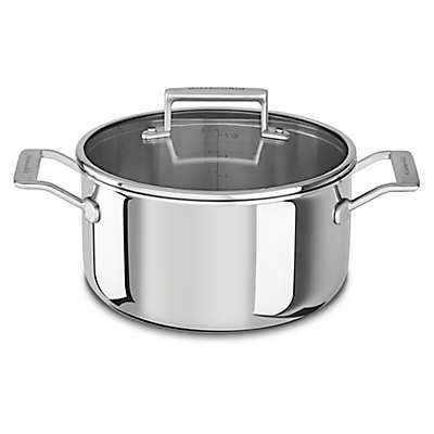 Kitchenaid® 6 qt. Tri-Ply Stainless Steel Low Casserole Dish