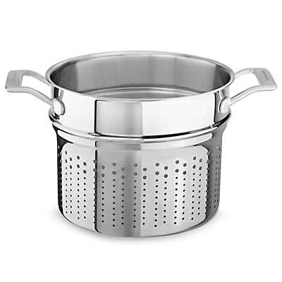 Kitchenaid® 8 qt. Tri-Ply Stainless Steel Pasta Insert