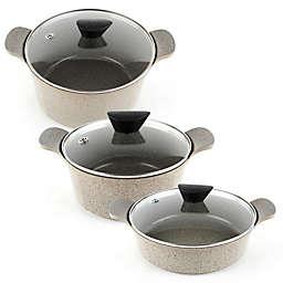 Neoflam® Nonstick Venn Marble Ceramic Stock Pot