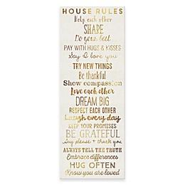 House Rules Wall Art