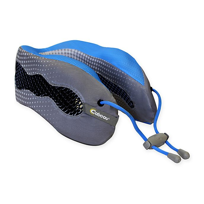 Alternate image 1 for Cabeau Evolution Cool Travel Pillow in Grey/Blue