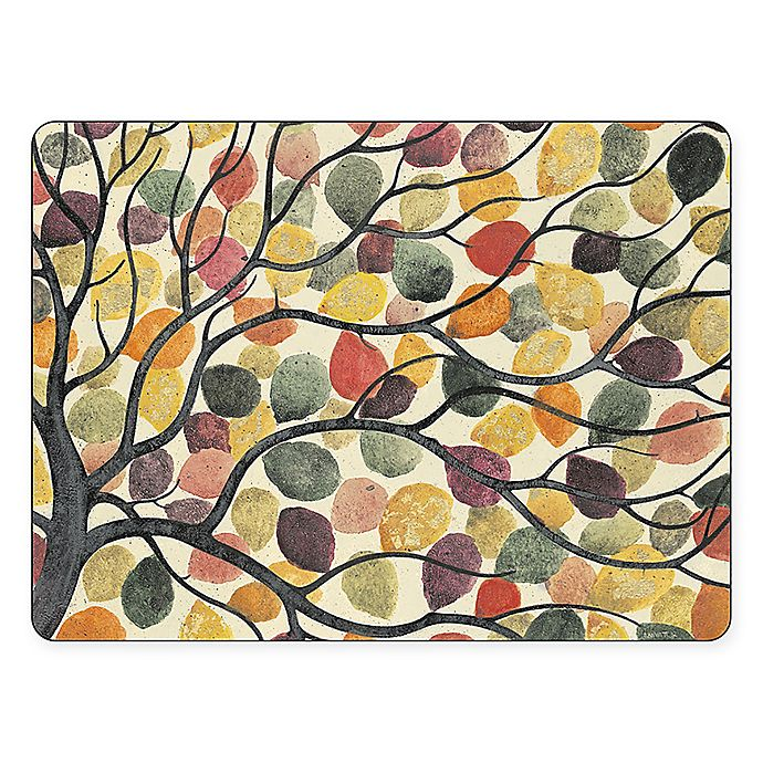 Alternate image 1 for Pimpernel Dancing Branches Placemats (Set of 4)