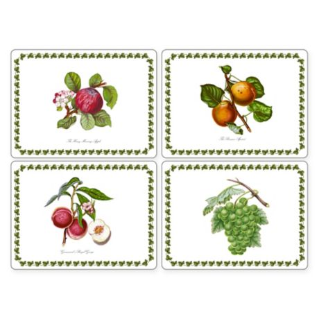 Pimpernel Pomona Placemats Set Of 4 Bed Bath Amp Beyond