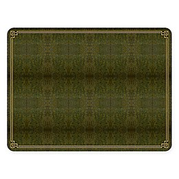 Pimpernel Shagreen Leather Placemats (Set of 4)