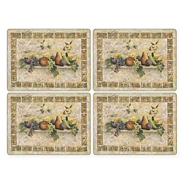 Pimpernel Tuscan Palette Placemats (Set of 4)