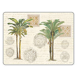 Pimpernel Vintage Palm Study Placemats (Set of 4)