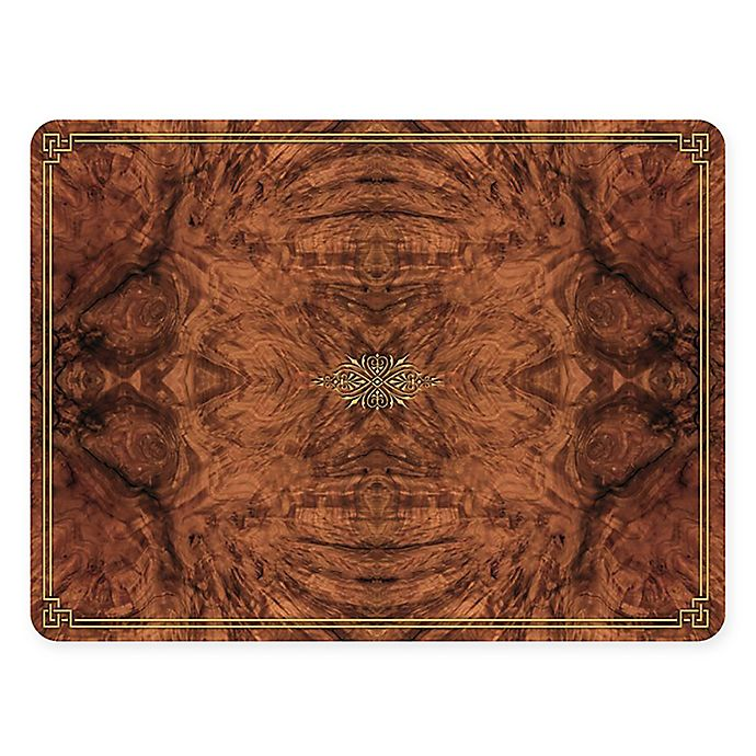 Alternate image 1 for Pimpernel Walnut Burlap Placemats (Set of 4)
