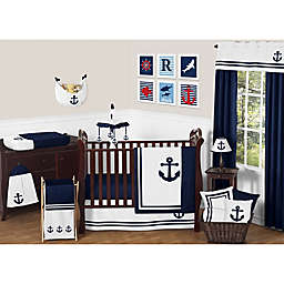 Sweet Jojo Designs Anchors Away Crib Bedding Collection