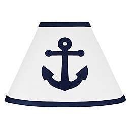 Sweet Jojo Designs Anchors Away Lampshade