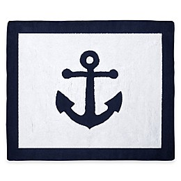 Sweet Jojo Designs Anchors Away Accent Rug