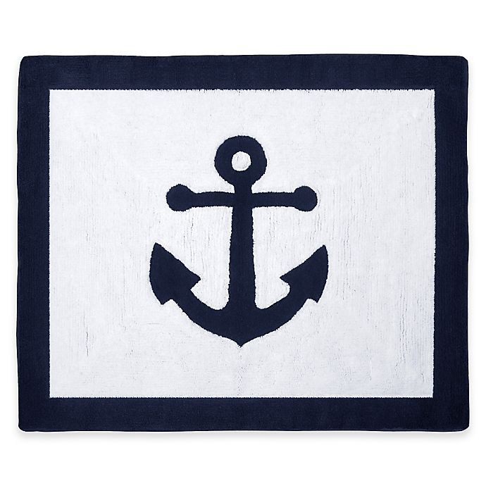 Alternate image 1 for Sweet Jojo Designs Anchors Away Accent Rug