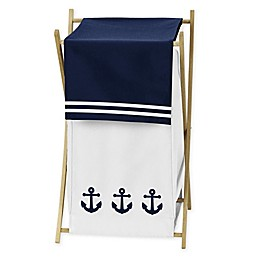 Sweet Jojo Designs Anchors Away Hamper
