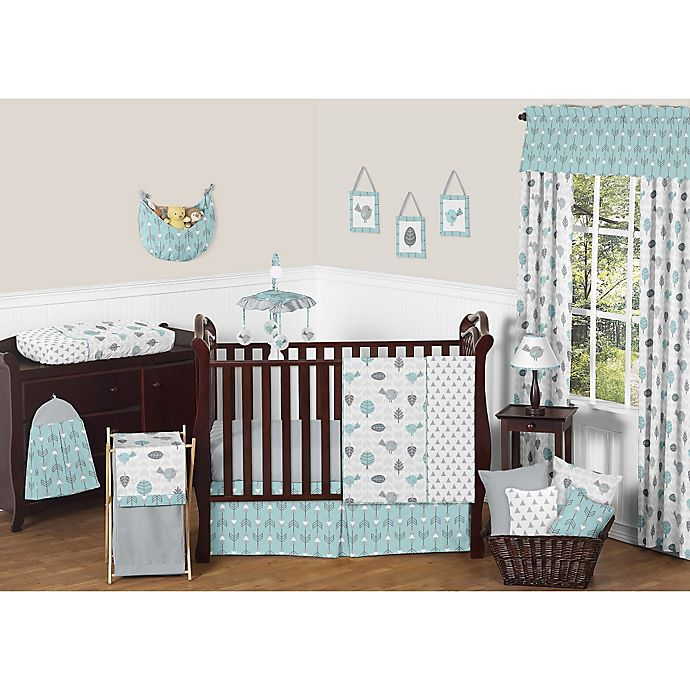 Alternate image 1 for Sweet Jojo Designs Earth and Sky Crib Bedding Collection