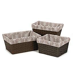 Sweet Jojo Designs Outdoor Adventure Basket Liner (Set of 3)