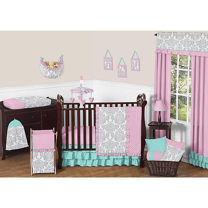 Alternate image 1 for Sweet Jojo Designs Skylar 11-Piece Crib Bedding Set
