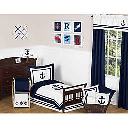 Sweet Jojo Designs Anchors Away Toddler Bedding Collection