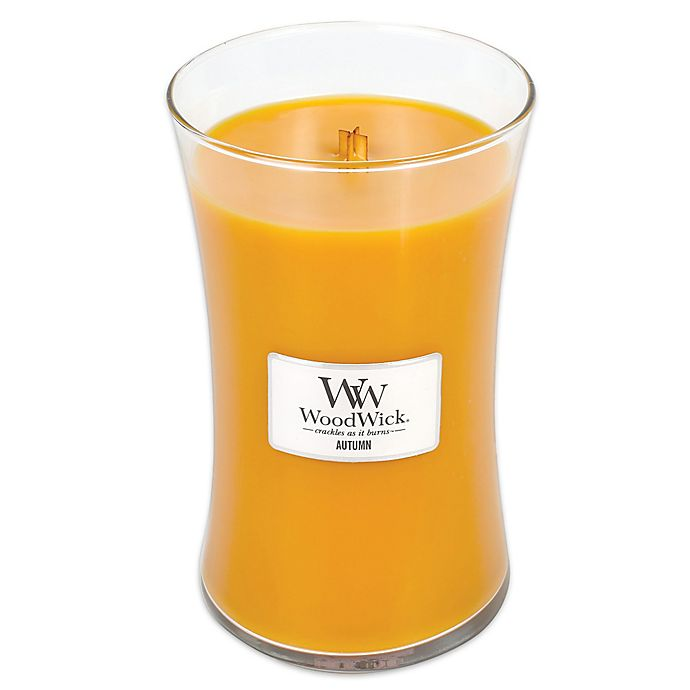 Alternate image 1 for WoodWick® Autumn Large Jar Candle