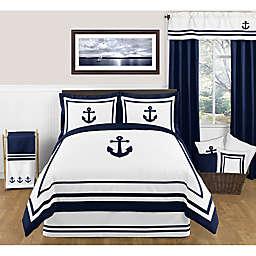 Sweet Jojo Designs Anchors Away Comforter Set