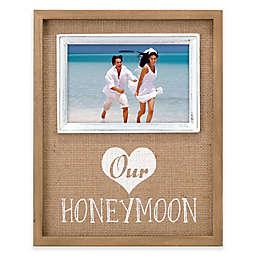 Malden® 4x6 Honeymoon Frame in Burlap