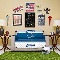 NFL Detroit Lions Love Seat Cover