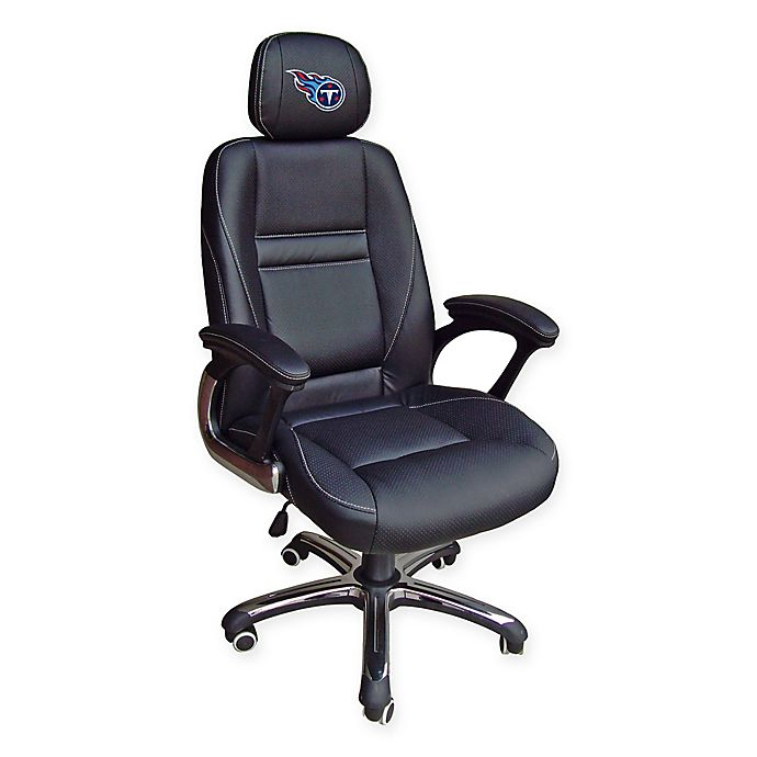 Alternate image 1 for NFL Tennessee Titans Leather Executive Chair