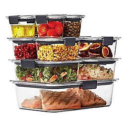 Rubbermaid® Brilliance 22-piece Food Storage Container Set