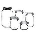 Bormioli Rocco Fido Hermetic 5-Piece Jar Set