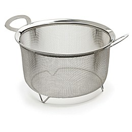 RSVP International 3 qt. Wide Rim Mesh Basket