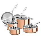 KitchenAid® Tri-Ply Copper 10-Piece Cookware Set