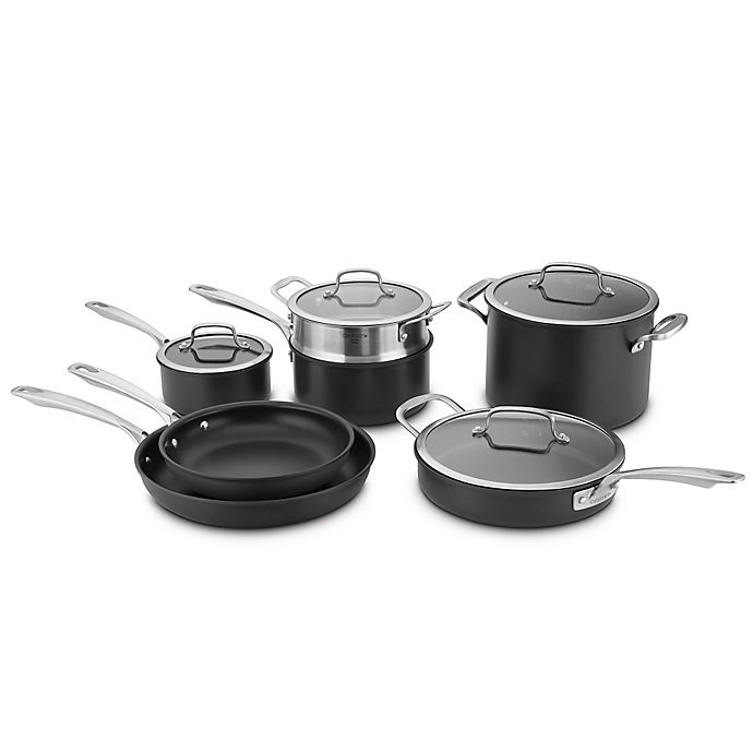 Alternate image 1 for Cuisinart® DS Induction Hard Anodized 11-Piece Cookware Set