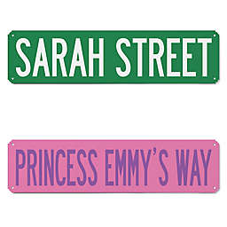 Personalized Name It Street Sign
