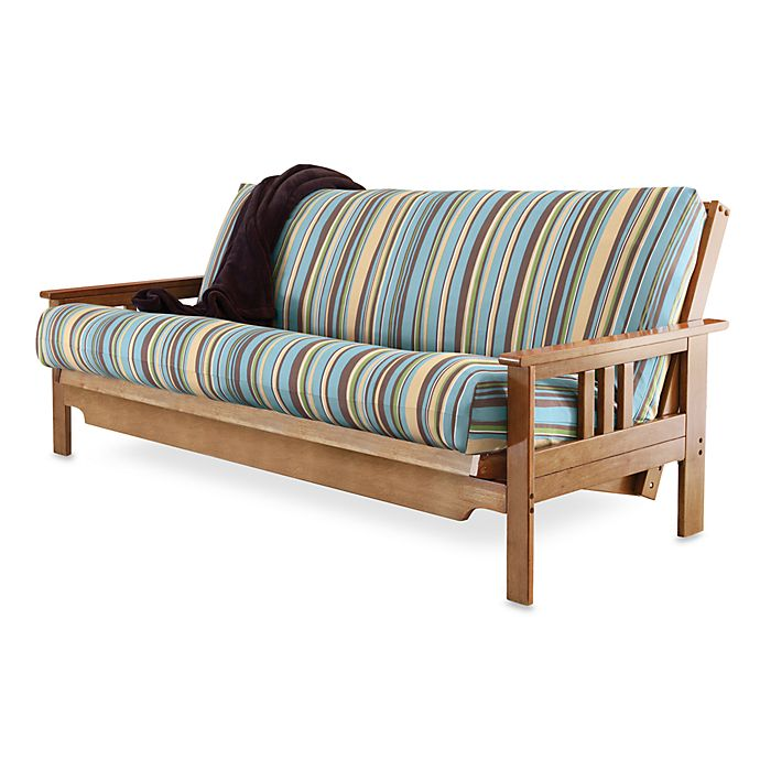 Striped Futon Cover Bed Bath And