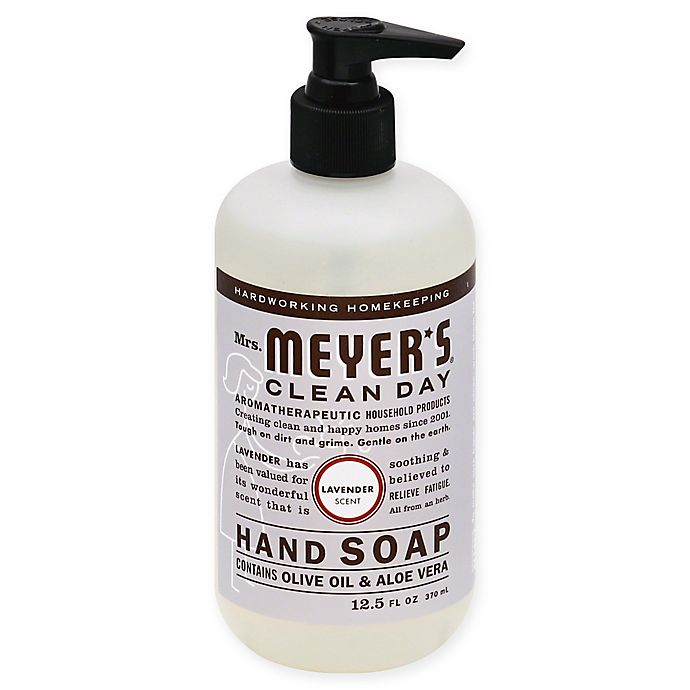 Alternate image 1 for Mrs. Meyer's® Clean Day Aromatherapeutic Lavender 12.5 oz. Liquid Hand Soap