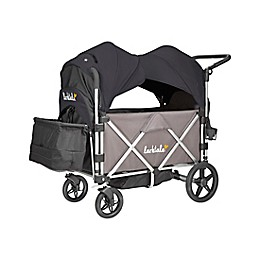 Larktale™ Caravan™ Stroller/Wagon with Canopy in Byron Black