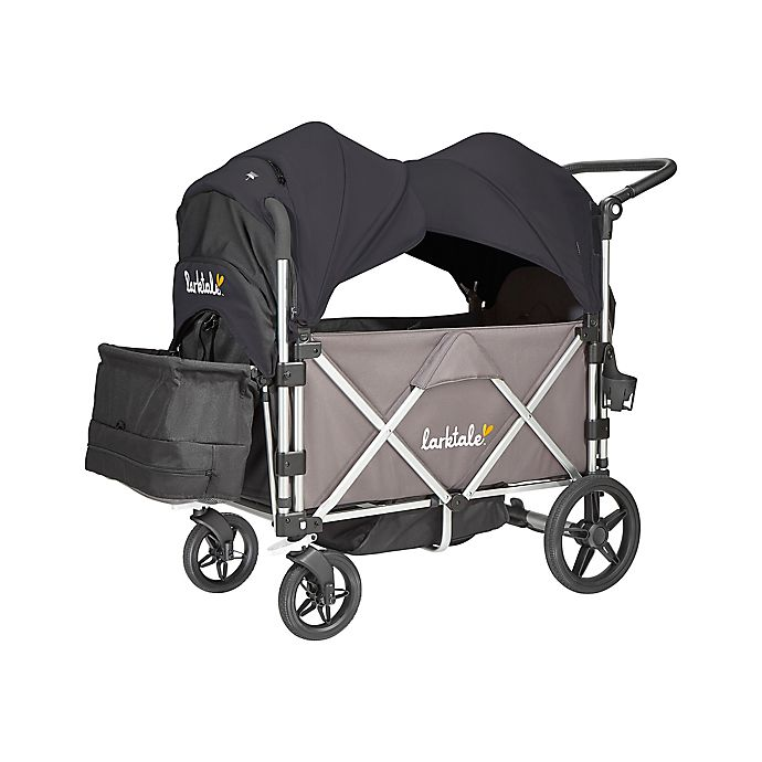 Alternate image 1 for Larktale™ Caravan™ Stroller/Wagon with Canopy in Byron Black