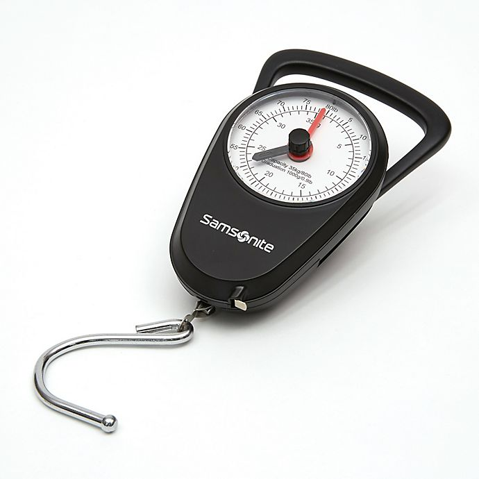 Alternate image 1 for Samsonite® Manual Luggage Scale