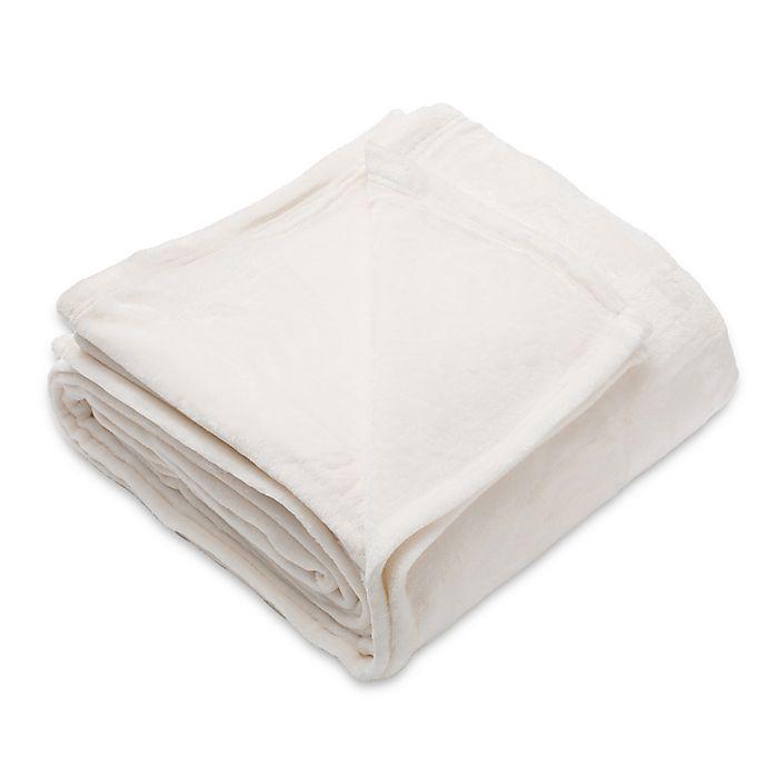 Home Fashion Designs Marlo Velvet Blanket Bed Bath Beyond