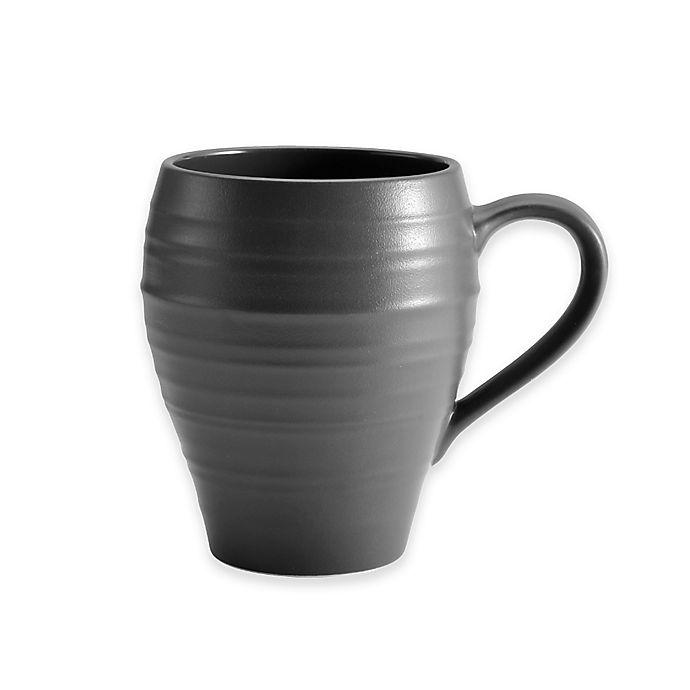 Alternate image 1 for Mikasa® Swirl Mug in Graphite