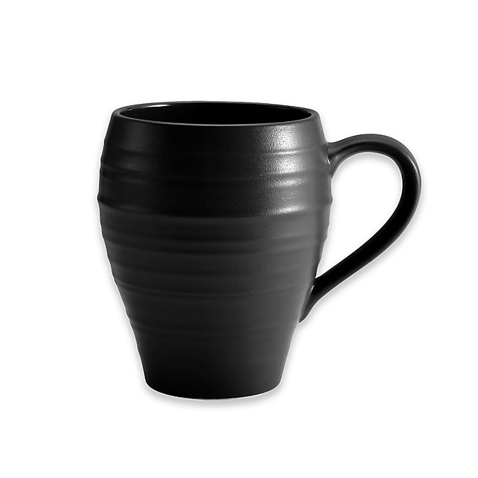 Alternate image 1 for Mikasa® Swirl Mug in Black