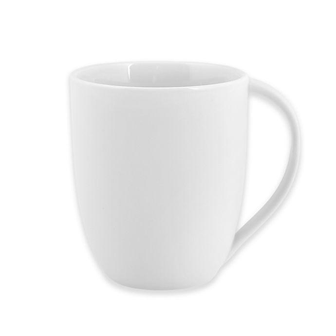Alternate image 1 for Artisanal Kitchen Supply® Curve Mug in White