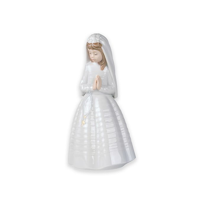 Alternate image 1 for Nao® by Lladro Girl Praying Figurine