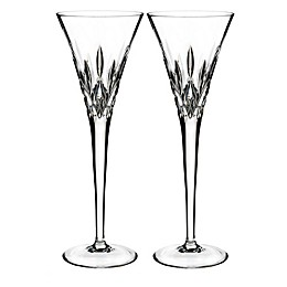 Waterford® Lismore Pops Toasting Flutes (Set of 2)