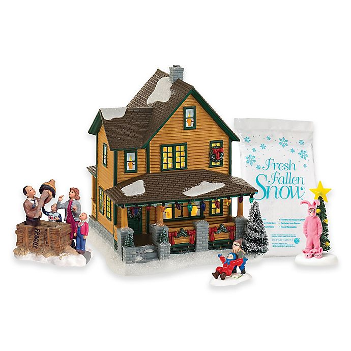 enesco department 56 a christmas story village boxed set - A Christmas Story Village