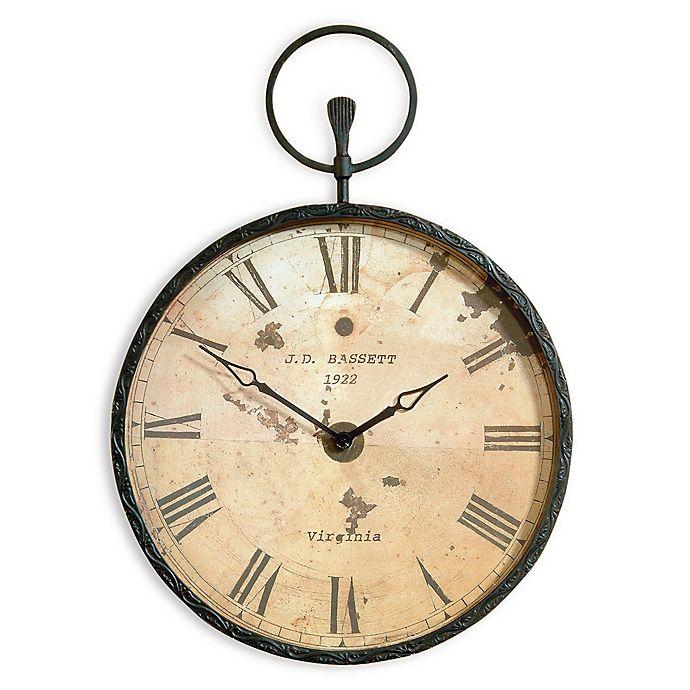 Bassett Mirror Company Papa S Oversized Pocket Wall Clock