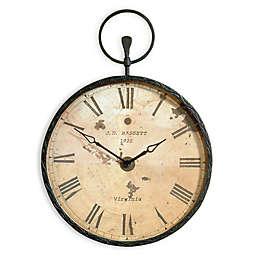Bassett Mirror Company Papa's Oversized Pocket Wall Clock in Bronze